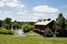 What A Gorgeous Venue The Barn Is Located In Zionsville