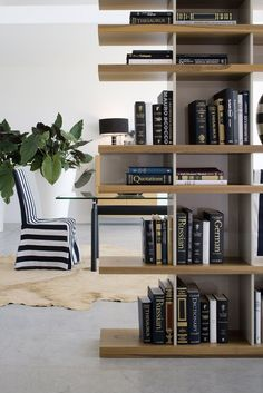 open divider #bookcase literatura openpunt | #design vicent