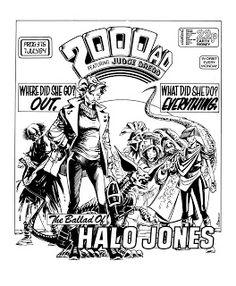 Halo Jones 2000AD  Ian Gibson