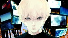 water paint poster examples tokyo ghoul - Google Search