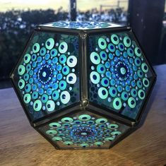 Dotted Candle Holder