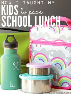 How I Taught My Kids to Make Their Own School Lunch