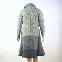 Reconstructed Sweater Coat/ Duster by Brendaabdullah on Etsy