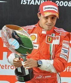 Piloto Felipe Massa, Ferrari, Turkey 2008