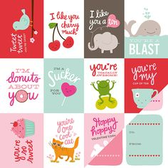 Pebbles+-+Be+Mine+Collection+-+12+x+12+Double+Sided+Paper+-+Valentine's+at+Scrapbook.com