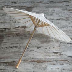 Parasol de papel de arroz Shun | UnaBodaOriginal