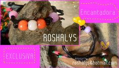 Las Manualidades de Roshalyss: pulsera de diseño exclusivo - Encantadora