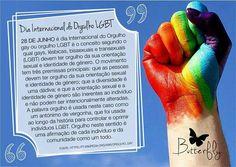28 de Junho - Dia internacional do Orgulho Gay Butterfly Coaching