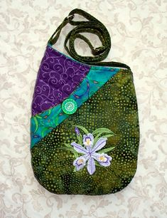Small Quilted Shoulder Bag Purse with by seablossomdesign on Etsy,