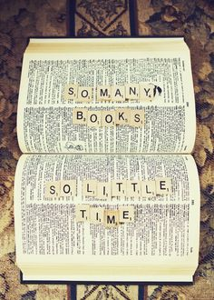 every bookaholic and bookworm's worst nightmare...:( XD