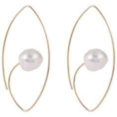 10 Moonstone, Pearl, and Alexandrite Birthstone Jewelry Pieces to Treat Yourself with This June - HIROTAKA Earrings from InStyle.com