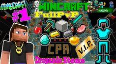 MINECRAFT - DROPANDO ITENS #1 - SERVIDOR WINCRAFT
