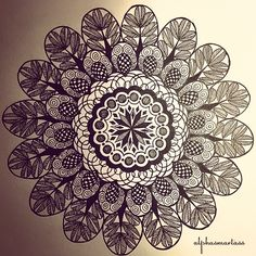 """""This is a subtle truth: whatever you love, you are. ""-Rumi #mandala #zentangle #art #zenart #arttherapy #artoftheday #artspotlight #doodle #doodling…"""