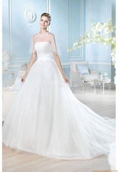 Halbe Ärmel  Elegante Brautkleider