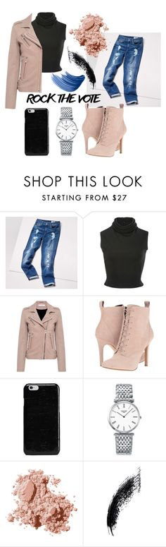 """""""Untitled #273"""" by nnk24 ❤ liked on Polyvore featuring Tommy Hilfiger, Brandon Maxwell, IRO, BCBGeneration, Maison Margiela, Longines and Bobbi Brown Cosmetics"""