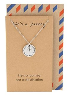 Blair Compass Necklace, Graduation Gifts