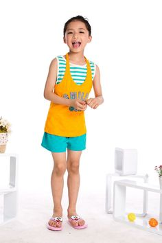Aliexpress.com : Buy 2013 Beach Clothing Free Shipping Girls Summer Suits Striped Tank Tops + Casual Pants,Kids Leisure Wear K0421 from Reliable Girls Summer Suits suppliers on SICIBAY - Kids' Clothing:Selling for Donating