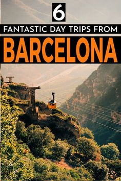 With the sunny, sandy beaches and the looming Pyrenees mountains to the north, there are so many amazing Barcelona day trips to take. Here are 6 fantastic day trips from Barcelona to add to your Barcelona itinerary. Destination Voyage, European Destination, European Travel, Europe Travel Guide, Spain Travel, Travel Guides, Travel Hacks, Barcelona Day Trips, Barcelona Travel