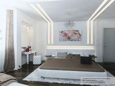 White Brown Contemporary Bedroom Interior Design Ideas