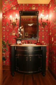 Chinoiserie Chic: Powder Room Inspiration