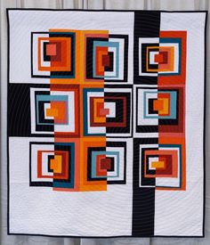 "Did you see the quilt The Color of Squares by Juli Smith from #quiltcon 2016? Here's a little more about it in her own words: ""I had been thinking…"