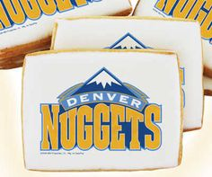 Denver Nuggets Cookies Birthday Cake Delivery 4th Parties Cakes Party