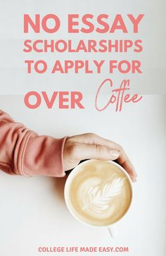 Just what I needed – easy & no essay scholarships to win money for college! Appl… Just what I needed – easy & no essay scholarships to win money for college! Apply to 60 with this simple list. Financial Aid For College, College Planning, Education College, College Savings, College Schedule, Education Reform, College Hacks, College Life, Scholarships For College