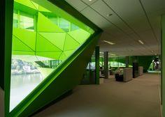 Euronews Headquarters by Jakob + MacFarlane, Lyon – France » Retail Design Blog