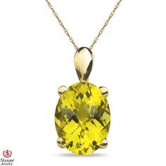 Ebay NissoniJewelry presents - Ladies Lemon Quartz Pendant in 10k Yellow Gold    Model Number:CP-3996LMQY0    http://www.ebay.com/itm/Ladies-Lemon-Quartz-Pendant-in-10k-Yellow-Gold/321612084158