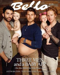 KINSLEY'S FIRST EVER COVER of a magazine!!!! Thanks to our app BellyBump which you can still get from the App Store and @BelloMag for giving us such a great spread :) you guys have GOT to see this, it's amazing haha!!