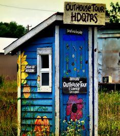 Outhouse Headquarters, Elk Falls Kansas
