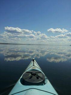 #fly on a #kayak