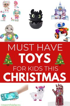 2019 is almost over, can you believe it? This year flew by! Before we know it will be Christmas. Don't worry the official list of the Hottest Toys 2019 is here! Each year I try 7 Year Old Christmas Gifts, Christmas Toys, Hottest Toys, Buy Toys, Best Kids Toys, Preschool Toys, Lol Dolls, Gifts For Kids, Kids Rugs