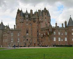Castelo de Glamis, Escócia.