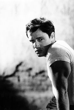 Marlon Brando in a promotional photo for A Streetcar Named Desire (1951)