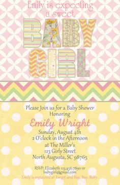 yellow on pinterest cakes baby showers pink yellow and chevron