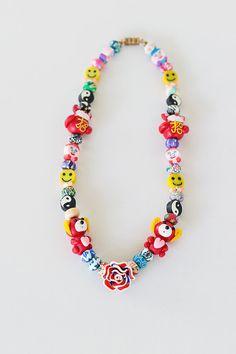 Fimo Necklace Animal Necklace Polymer Clay by JeniandPatsBeadHive