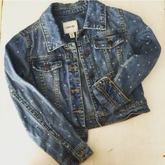 Check this item I am selling on Totspot, the resale shopping app for kids' clothes.   Denim jacket Cherokee (Target)  Love this! #kidsfashion