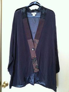 Yasuko Artsy Kimono Lagenlook Jacket