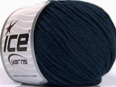 Fiber Content 60% Bamboo 40% Cotton Navy Brand Ice Yarns fnt2-50549