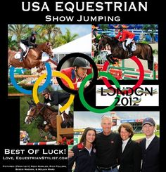 Olympic Show Jumping | USA Olympic Equestrian Show Jumping Team | Olympics - 2012 - London