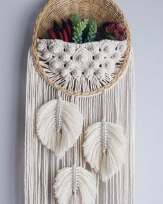 macrame plant hanger+macrame+macrame wall hanging+macrame patterns+macrame projects+macrame diy+macrame knots+macrame plant hanger diy+TWOME I Macrame & Natural Dyer Maker & Educator+MangoAndMore macrame studio Macrame Design, Macrame Art, Macrame Projects, Macrame Knots, Baskets On Wall, Wall Basket, Diy Crafts To Sell, Kids Crafts, Diy Wall Painting