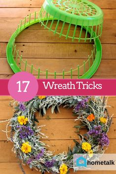 Get these great wreath ideas and more when you join the world& largest home and garden community! Get these great wreath ideas and more when you join the worlds largest home and garden community! Wreath Crafts, Diy Wreath, Wreath Ideas, Diy Crafts To Sell, Home Crafts, Christmas Wreaths, Christmas Crafts, Bazaar Crafts, Creation Deco