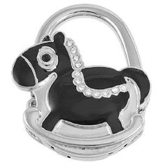 Amico Black Wooden Horse Shaped Silver Tone Metal Hanger Folding Handbag Hook by Amico. $6.49. Brand : SourcingMap;Color : Black,Silver Tone;Exact Color : Black. Shade : Silver;Size : Small;Size Type : Regular. Folding Size : 4.7 x 5.7 x 1.1cm/ 1.8 x 2.2 x 0.4 inches;Height : 9cm/ 3.5 inches;Material : Plastic,Metallic,Rubber. Net Weight : 62g;Package Content : 1 x Handbag Hook;Pattern : Pure. Style : Foldable;Suitable for : Lady. Feature: Rhinestone Inlaid Blac...