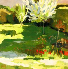 """Saatchi Online Artist Gardies Roche; Painting, """"printemps à lucé"""" #art"""