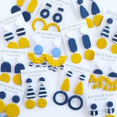✖SET YOUR ALARMS ✖ @winterbloomdesign RESTOCK Tonight 8PM QLD TIME ONLINE @giftsatteacup #handmade #giftsforher #giftsatteacup #mustard #navy #stripe #ruralqld #roma #womeninbusiness #earrings #madeinaustralia #australianmade #accessories #restock #style #whattowear #teacherstyle #classic #original