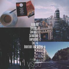 VSCO Inspiration. My edits for urban landscapes. Instagram Vsco Filters #ad