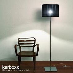 Karboxx Peggy Floor Lamp #black design available at LoftModern.com