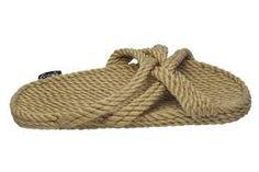 Resultado de imagen de handmade rope sandals