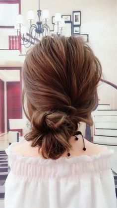46 trendy fall wedding hairstyles ideas 36 46 trendy fall wedding hairstyles i Wedding Hairstyles For Long Hair, Easy Hairstyles, Hair Wedding, Hairstyle Ideas, Hair Videos, Bridesmaid Hair, Hair Inspiration, Curly Hair Styles, Hair Makeup